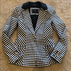 GUESS Checkered Blazer